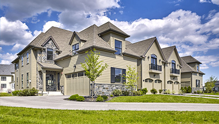New homes in Flourtown, Pennsylvania at The Reserve at Creekside