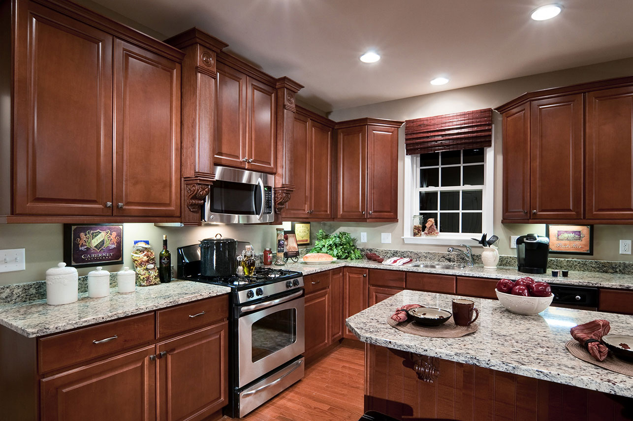 kitchen in a house for sale in Zionsville, PA