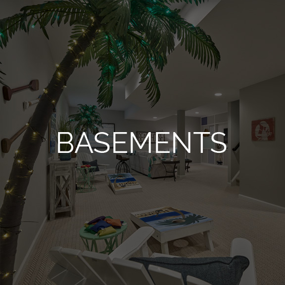 Judd Builders Design Studio Basements