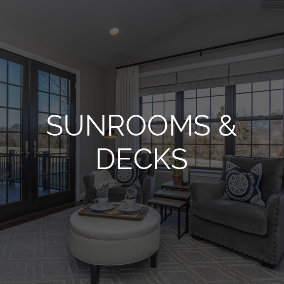 Judd Builders Design Studio Sunrooms & Decks