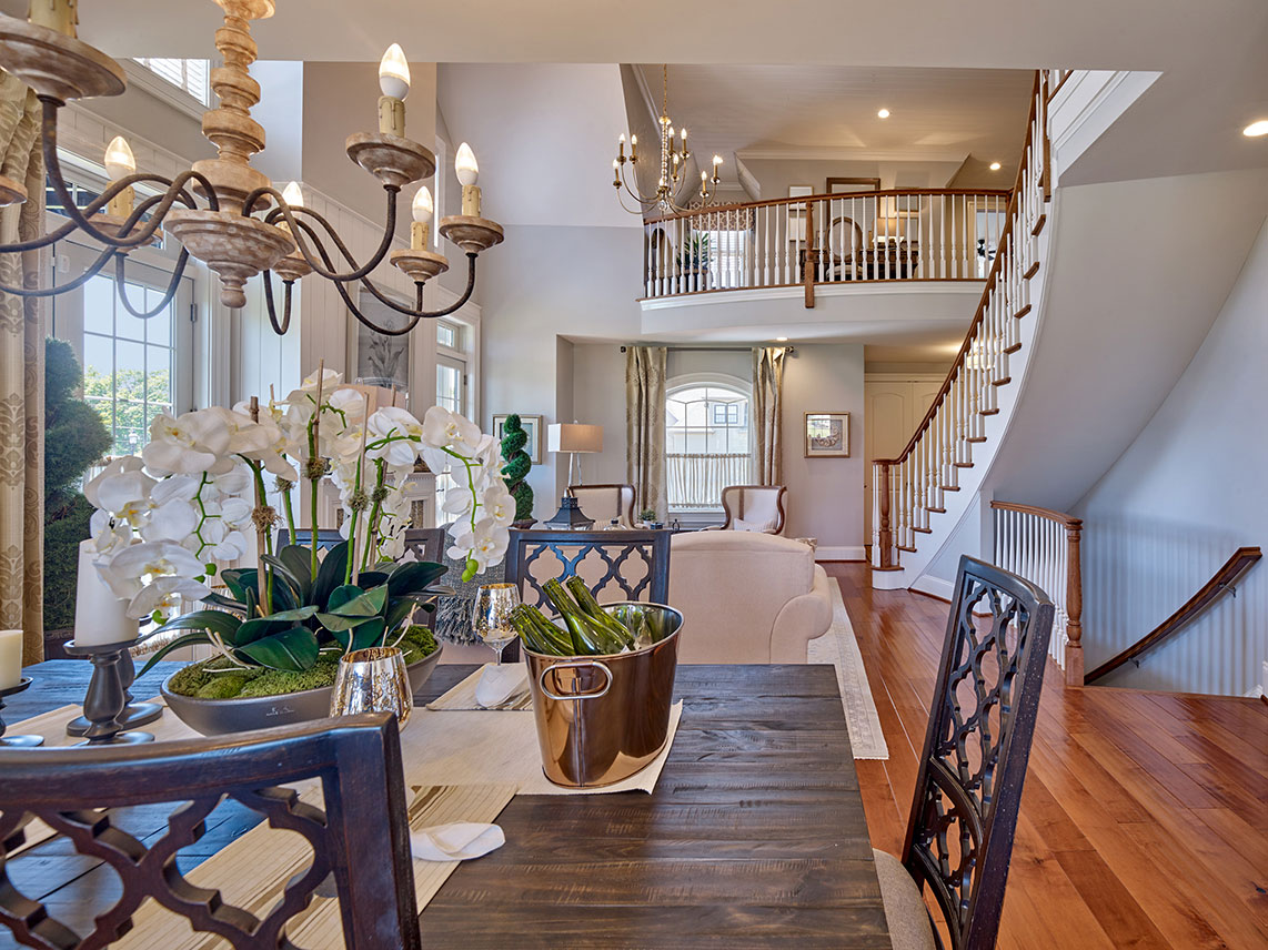 dinning room in Montgomery County home for sale