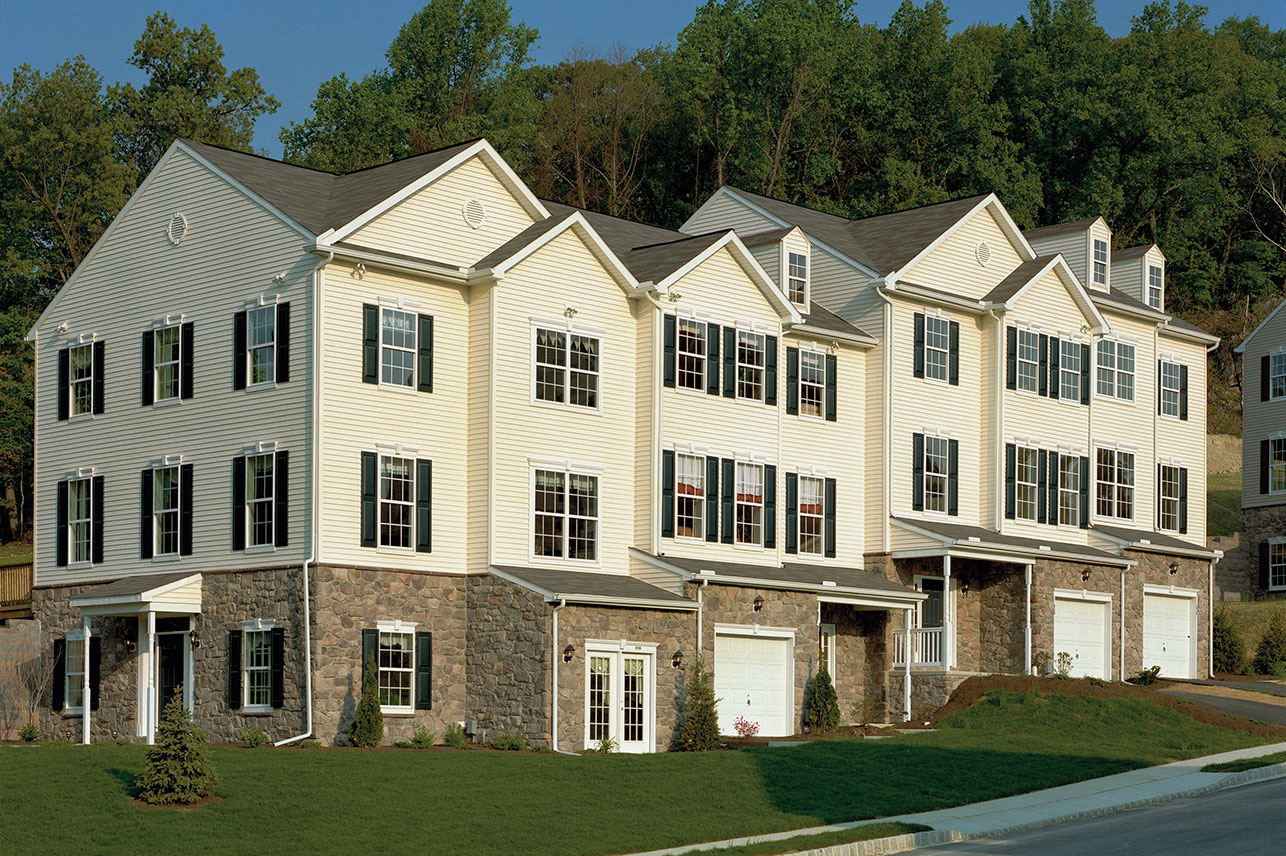 exterior of new home in York, PA