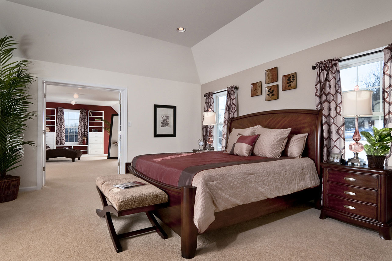 bedroom in Zionsville house for sale