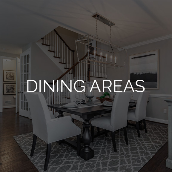 Dining Area at The Reserve at Glen Loch by Judd Builders