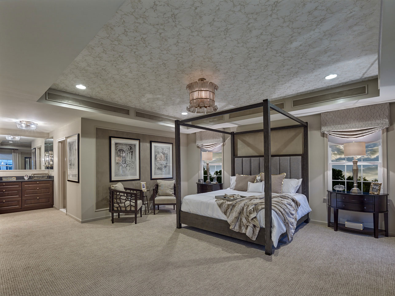 owners bedroom in a West Chester, PA home for sale