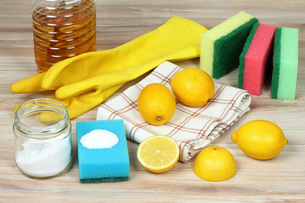 Natural eco-friendly cleaning products
