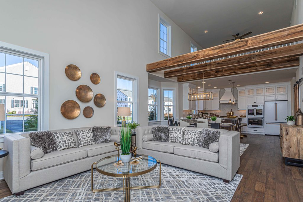 Open Concept Layout at The Caldwell Model