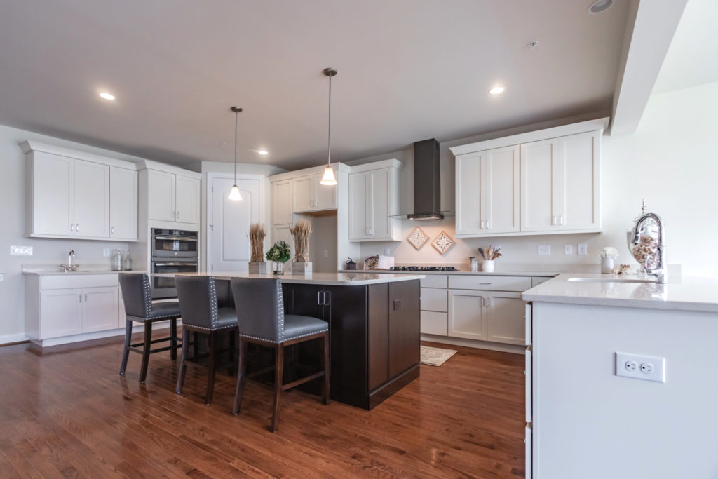 Kitchen at the Gowen Model at The Reserve at Creekside by Judd Builders