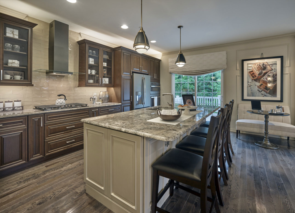 Gourmet Kitchen at The Anderson Model at The Reserve at Glen Loch