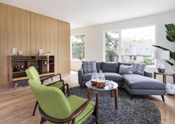 Mid-century Modern house living room interior